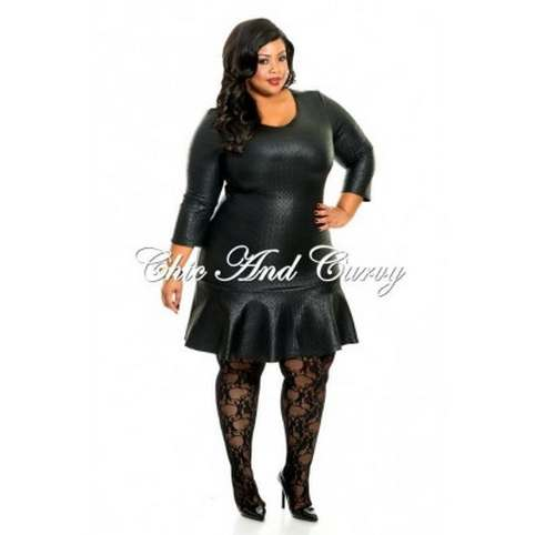 Chic and Curvy Plus Size Dresses. Winter 2014-2015