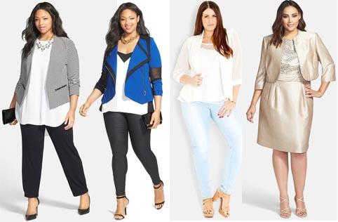Модная Одежда Для Полных Женщин 2016