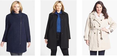 Мода для полных женщин осень-зима 2014-2015