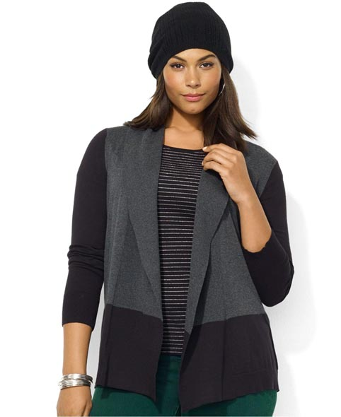 Plus Size Cardigans Fall-winter 2013-2014