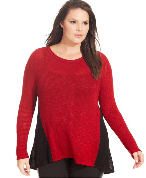 Plus Size Sweaters, Tunics and Pullovers Fall-Winter 2013-2014