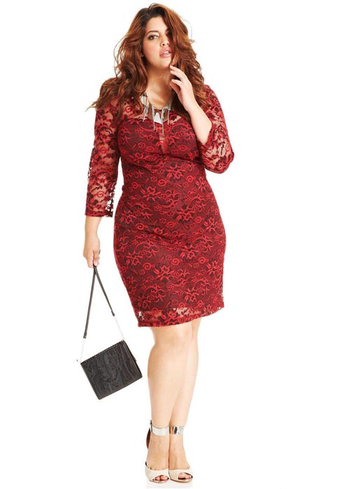 Trixxi Plus Size Dresses. Fall-Winter 2013-2014
