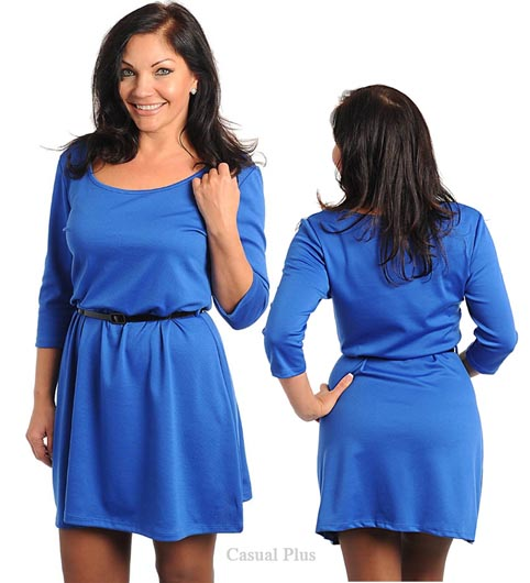 Casual-Plus Dresses 2014