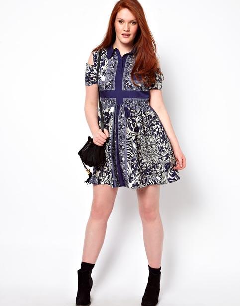 Asos Plus Size Dresses. Spring 2013