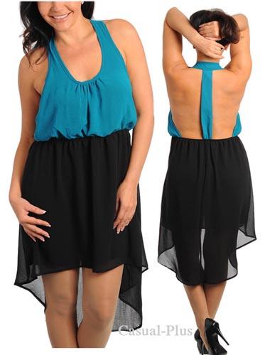 Casual-Plus Dresses. Spring-Summer 2013
