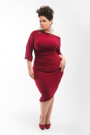 Qristyl Frazier Designs Plus Size Dresses 2013