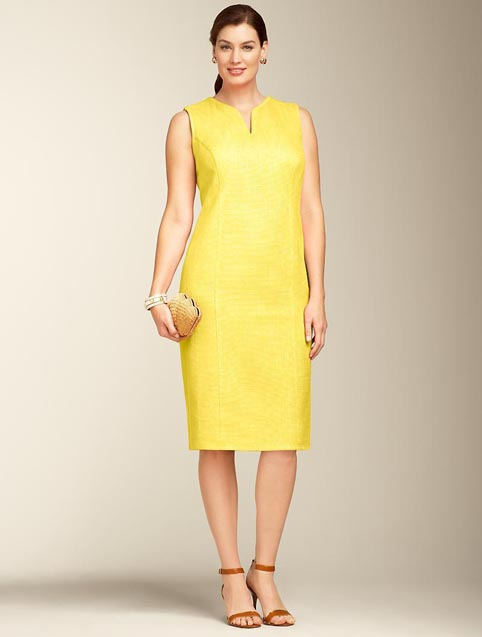 Talbots Plus Size Dresses. Summer 2013