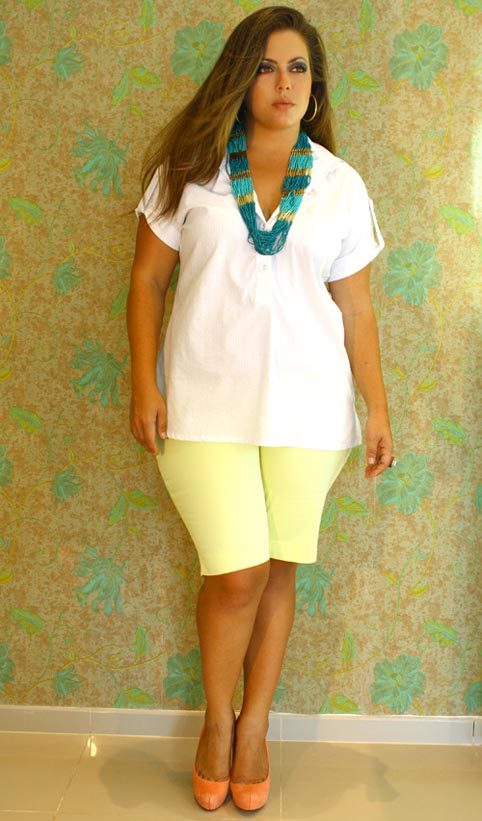 Brazilian Catalog Plus Size La Mafê. Summer 2013