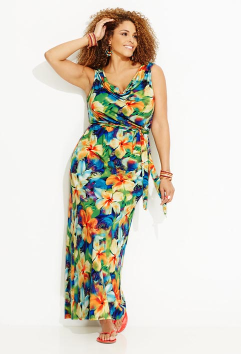 Avenue Plus Size Dresses and Sundresses. Summer 2013