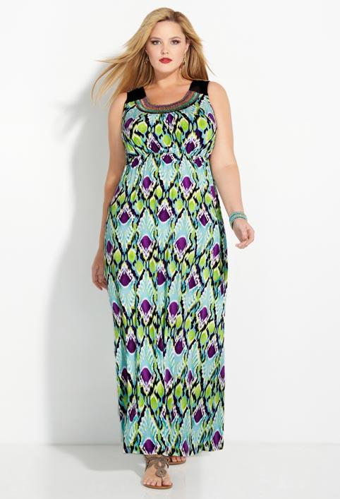 Avenue Plus Size Dresses and Sundresses. Summer 2013