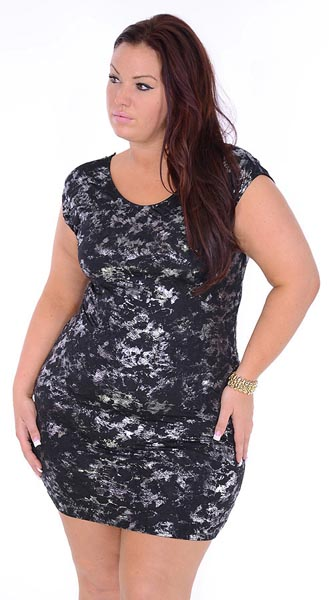 Great Glam Plus Size Mini Dresses. Summer 2013