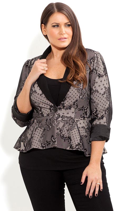 Plus Size Jackets by City Chic. Fall 2013
