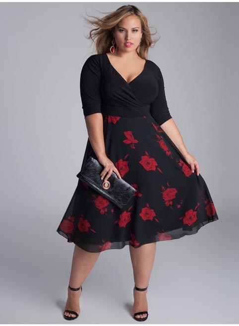 IGIGI Plus Size Dresses. Fall 2013