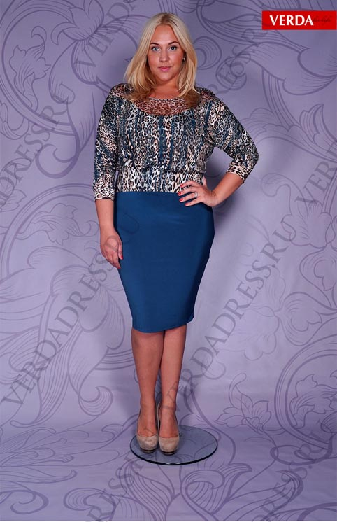 Plus Size Dresses by Turkish Brand Verda. Fall 2013