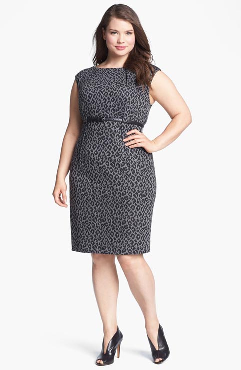 Calvin Klein Plus Size Dresses. Fall 2013