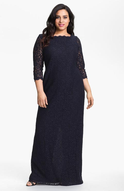 Adrianna Papell Plus Size Dresses. Autumn-Winter 2013-2014