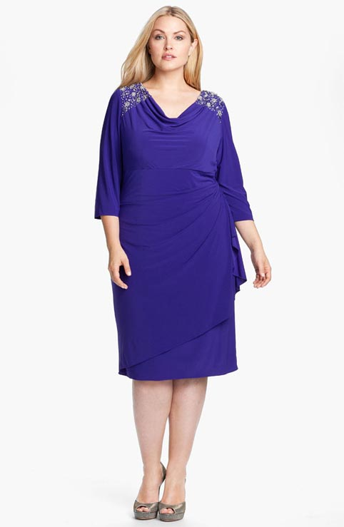 Alex Evenings Plus Size Dresses. Spring-Summer 2013