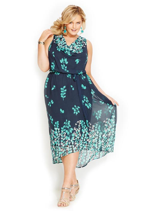 Avenue Plus Size Dresses. Spring-Summer 2013