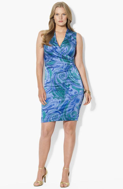 Ralph Lauren Plus Size Dresses. Spring-Summer 2013
