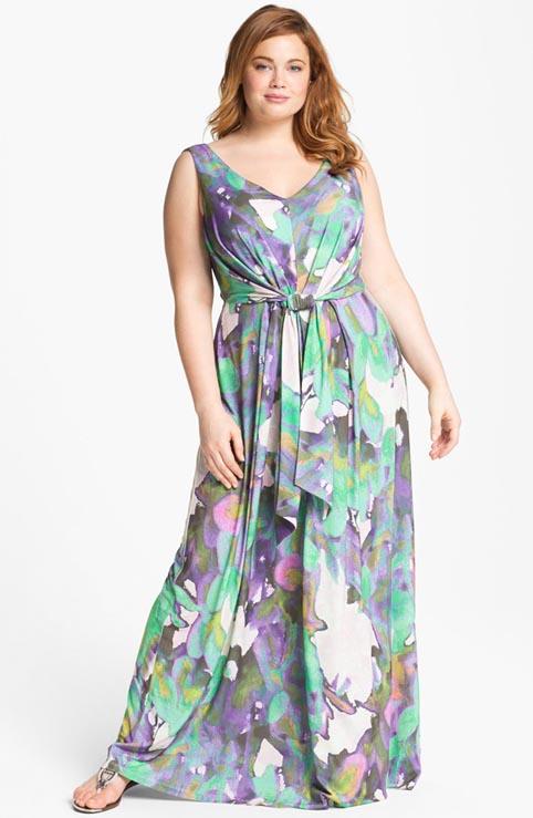 Модные сарафаны для полных - Мода | Megdunami.com