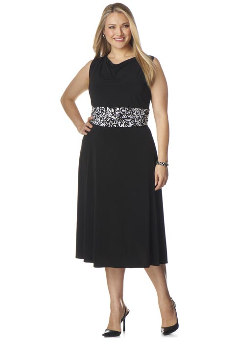 CJ Banks Plus Size Dresses. Spring-Summer 2013