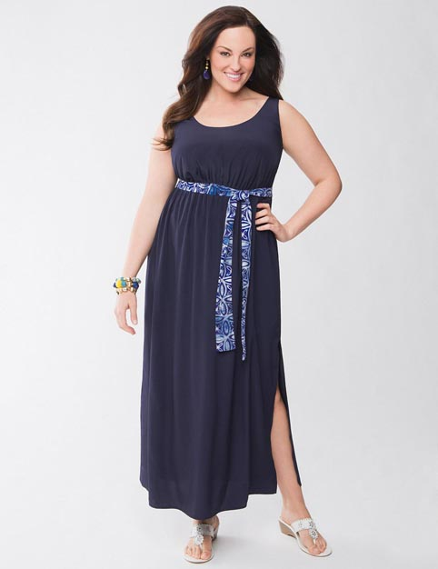 Lane Bryant Plus Size Dresses and Sundresses. Summer 2013
