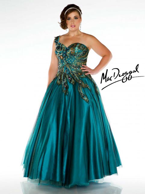 Mac Duggal Plus Size Dresses. Spring-Summer 2013