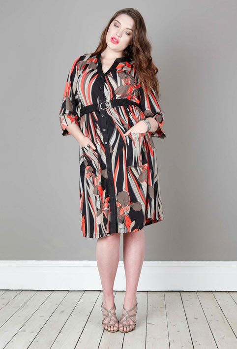 Anna Scholz Plus Size Dresses and Sundresses. Summer 2013