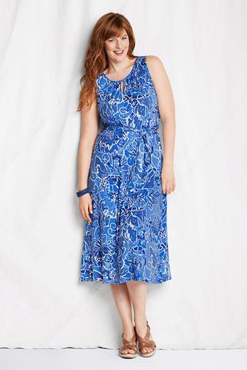 Lands' End Plus Size Dresses. Summer 2013