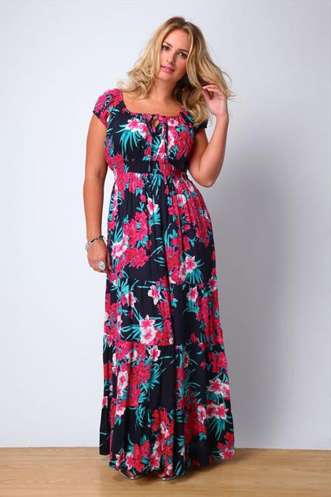 Yours Plus Size Dresses and Sundresses. Summer 2013