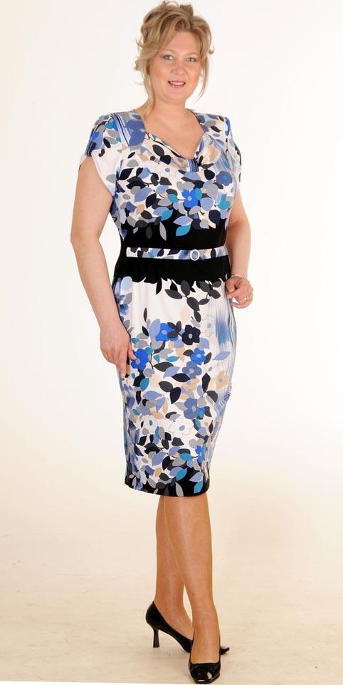 Летние платья из вискозы для полных