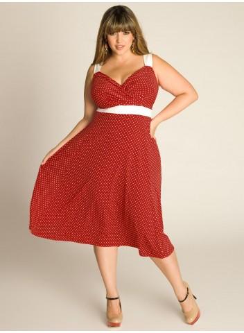 Летнее платье на полную фигуру 10
