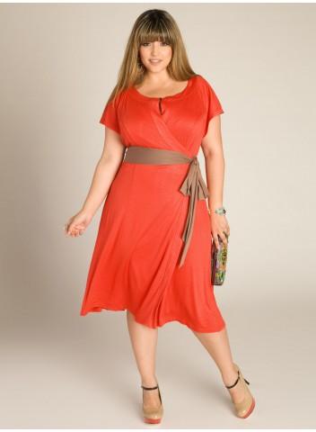 Летнее платье на полную фигуру 7