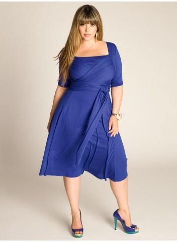 Летнее платье на полную фигуру 9