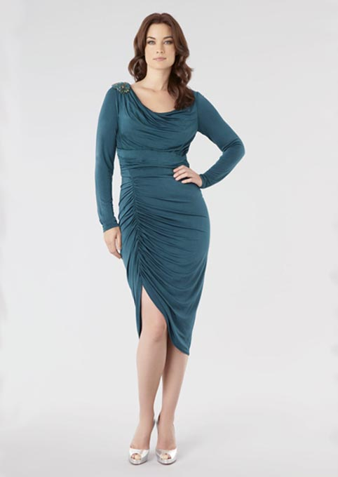 David Meister Plus Size Dresses, Winter-Spring 2013