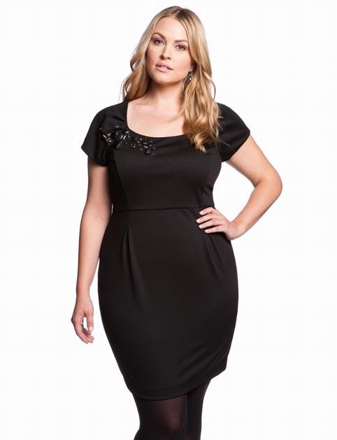 Eloquii Plus Size Dresses, Winter 2013