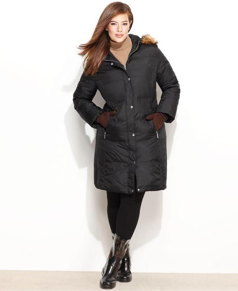 Puffers Plus Size. Winter 2012-2013