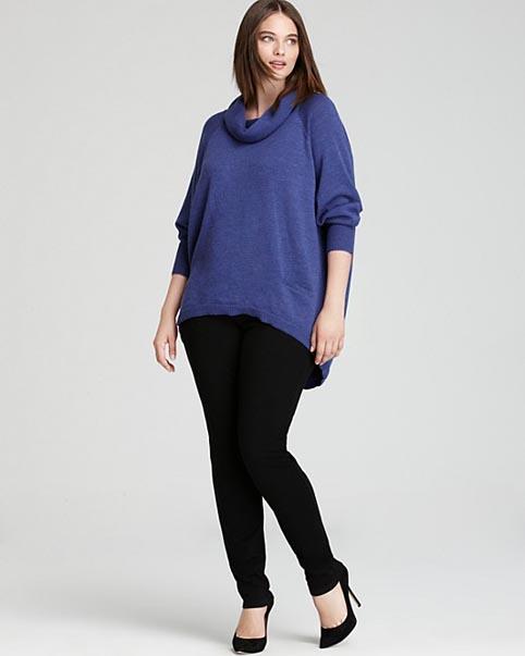 Eileen Fischer Plus Size Collection. Winter 2013