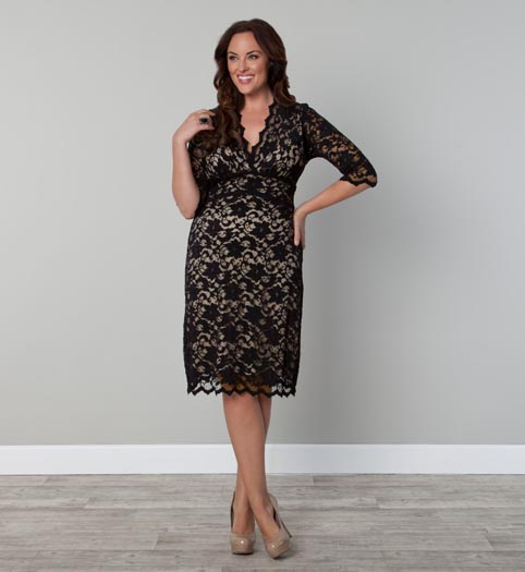 Kiyonna Plus Size Dresses. Winter-Spring 2013