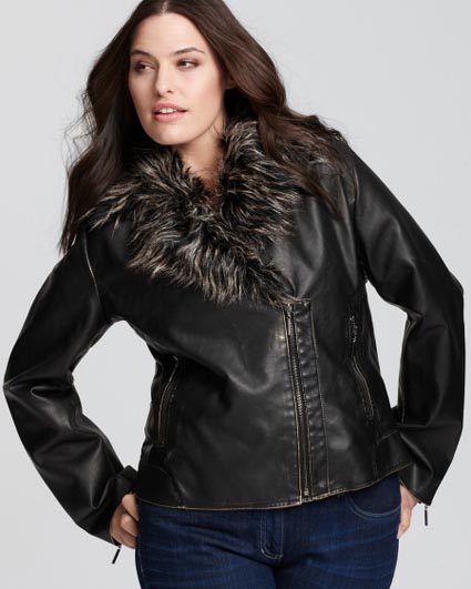 Women's Plus Size Leather Jackets and Coats. Autumn-winter 2012\2013