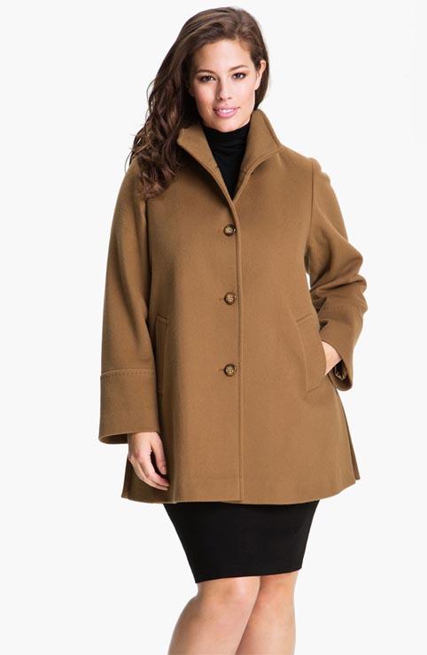 Пальто для полных ::