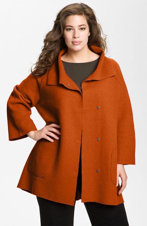 Women's Plus Size Coats. Autumn-Winter 2012-2013