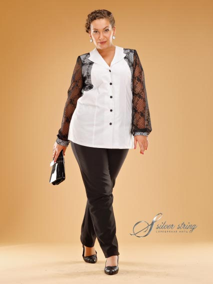 Russian Catalog Plus Size Silver String. Autumn-winter 2012-2013