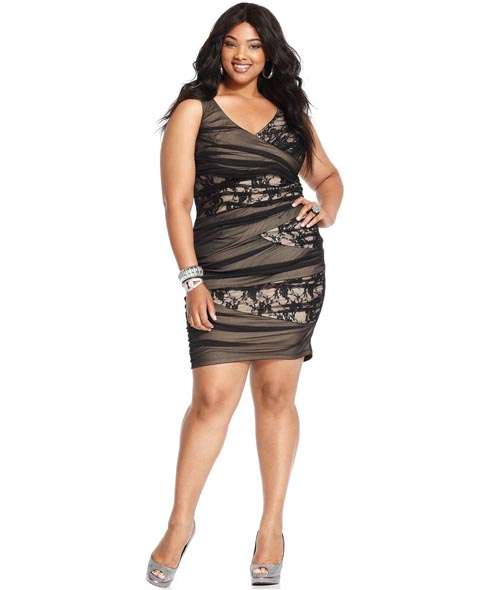 Trixxi Plus Size Dresses, Fall 2012