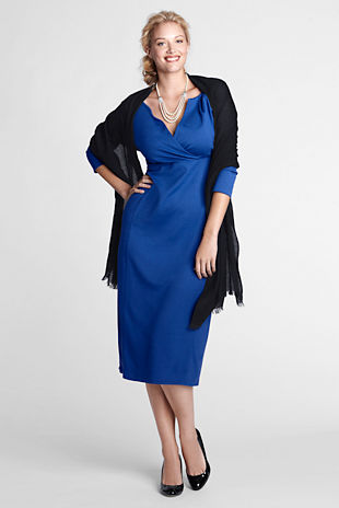 Land's End Plus Size Dresses, Fall-Winter 2012-2013