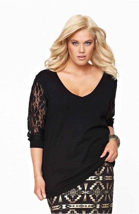 Swedish Сatalog Plus Size Halens. Autumn-winter 2012-2013