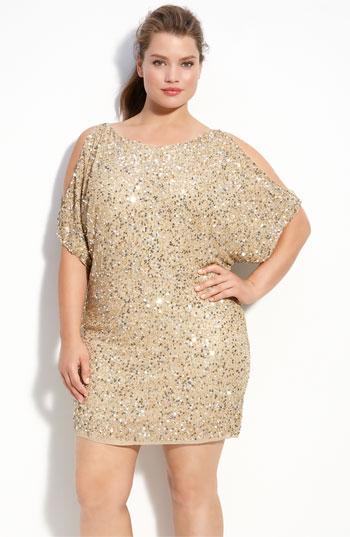Новогодние платья для полных женщин 2012 http://polnota.3dn.ru