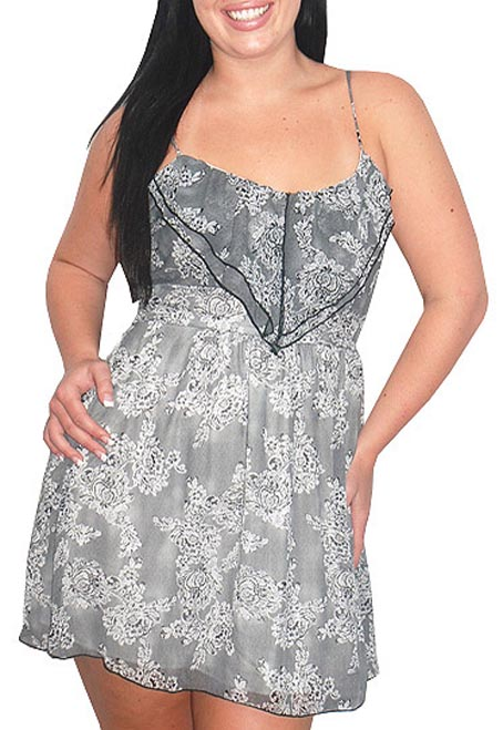 Great Glam Plus Size Minidresses, Spring-Summer 2012