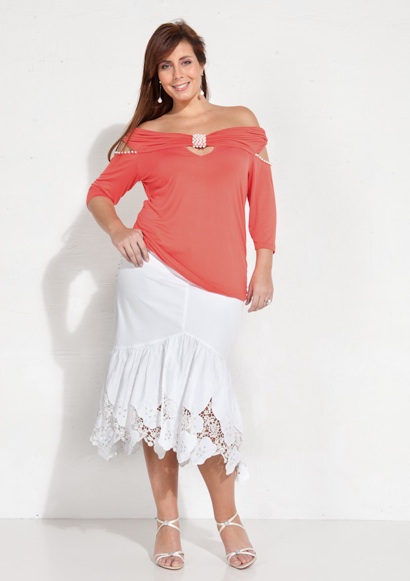 French Catalog Plus Size Giani Forte. Spring-summer 2012