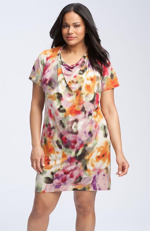 Летние платья и сарафаны 2012 для полных женщин от ведущих американских производителей